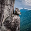 Rock at chimney rock — Stock Photo
