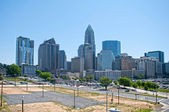 Charlotte downtown — Foto de Stock