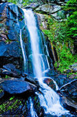 High shoal falls at south mountain state park — Stock Photo