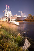 Battleship USS North Carolina — ストック写真