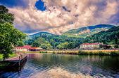 Lake Lure, Chimney Rock Park, North Carolina, USA — Stock Photo