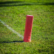 Football touchdown marker — Stock Photo