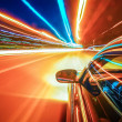 Travel at speed of light — Stock Photo #14660867