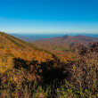 Stock Photo: AppalachiMountains from Mount Mitchell, highest point in eastern United States