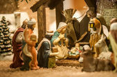 Nativity Set — Stock Photo