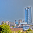 View of Charlotte, North Carolina - Stock Photo