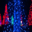 Christmas tree out of focus — Stock Photo #18163191
