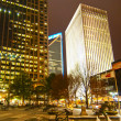 Skyline of uptown Charlotte, North Carolina at night. — Stock Photo