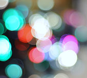 Lights out of focus — Stock Photo