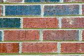 Tuğla duvar dokusu — Stok fotoğraf