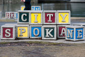 Spokane city — Stock Photo