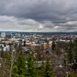 Spokane washington skyline panorama — Stock Photo