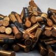 Stock Photo: .22 bullet ammo background