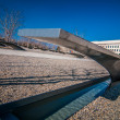 WASHINGTON DC - CIRCA APRIL 2013: Pentagon memorial circa June 2 — Stock Photo