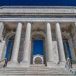View  of the Memorial Amphitheater at arlington cemetery - Stock Photo