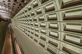 Smithsonian metro station in Washington DC — Stock Photo
