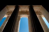Massive pillars — Stock Photo