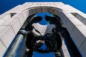 World War II Memorial in Washington, DC — Stock Photo