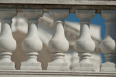 Neoklassiska joniska arkitektoniska detaljer — Stockfoto