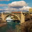 Spokane washingon downtown streets and architecture — ストック写真 #24945817