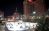 Providence on a cold december evening — Stock Photo #24944741