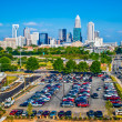 Stock Photo: Skyline of Uptown Charlotte, North Carolina.