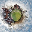Stock Photo: Billy graham free library mini planet