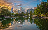 Skyline of Uptown Charlotte, North Carolina. — Stock Photo