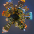Atlanta skyline mini planet — Stock Photo #25773045