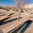 911 Memorial Victims Pentagon Attack in Arlington Virginia in th — Stock Photo