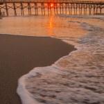 Morning at Myrtle Beach South Carolina — Stock Photo