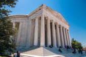 The Thomas Jefferson Memorial in the Washington DC — Stok fotoğraf