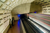 Washington DC Metro Tunnel — Stock Photo