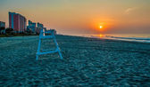 Morning at Myrtle Beach South Carolina — Stock Photo