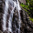 Hickory Nut Falls in Chimney Rock State Park, North Carolina. — Stock Photo