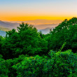 Blue ridge parkway early morning — Stock Photo #26910295