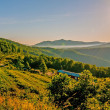 Stock Photo: Blue ridge parkway morning