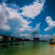 Destin florida beach scenes — Stock Photo