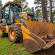 Front of backhoe — Stock Photo #27355499