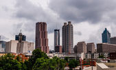 Skyline of atlanta, georgia — Stock Photo