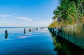 Destin florida sceny plaży — Zdjęcie stockowe