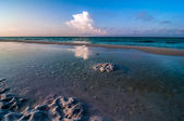 Escena de la playa de florida — Foto de Stock
