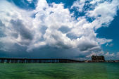 Florida beach scene — Stock Photo