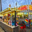 Stock Photo: Fair Corn Dogs, part of midway at state fair