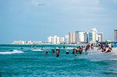 フロリダ州公共ビーチ — ストック写真