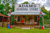 General store in southern usa in troy, alabama — Stock Photo