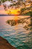Scenery around lake jocasse gorge — Stock Photo