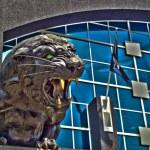 Carolina panthers statue — Stock Photo #29735321