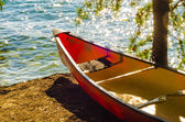 Kayak by the water — Foto de Stock