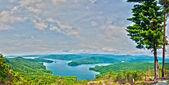 South Carolina Lake Jocassee Gorges Upstate Mountain — Stock Photo
